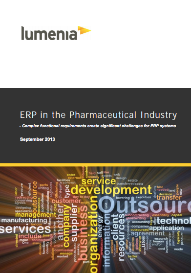 ERP in the Pharmaceutical Industry | Lumenia Consulting: Independent