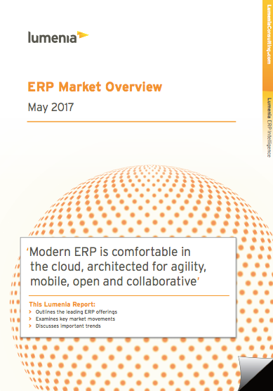ERP Market Overview Report 2017 Cover