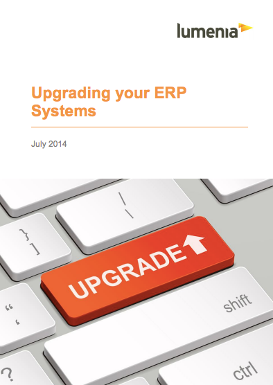 Upgrading your ERP Systems Cover
