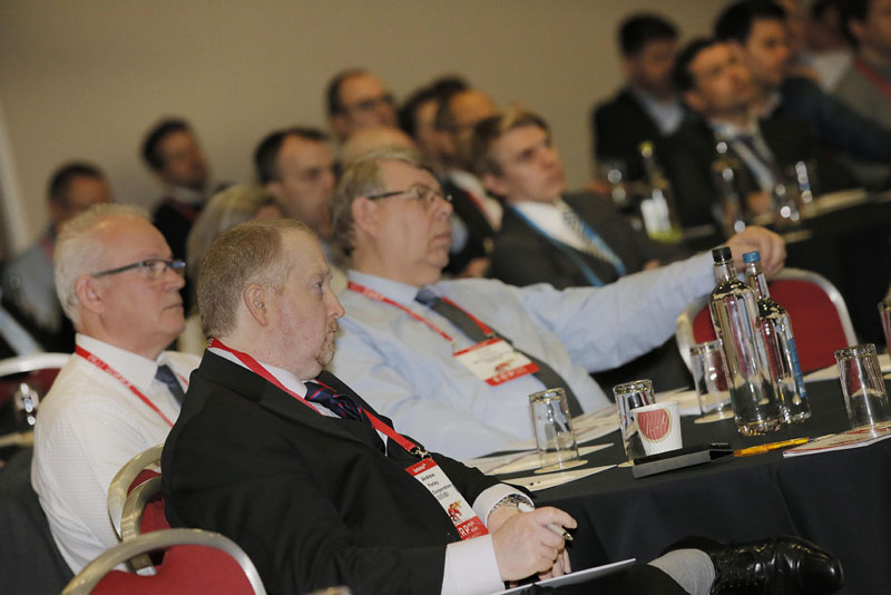 A captive audience at the ERP H2H UK 2019 event