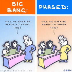 ERP - Big Bang versus Phased Approach