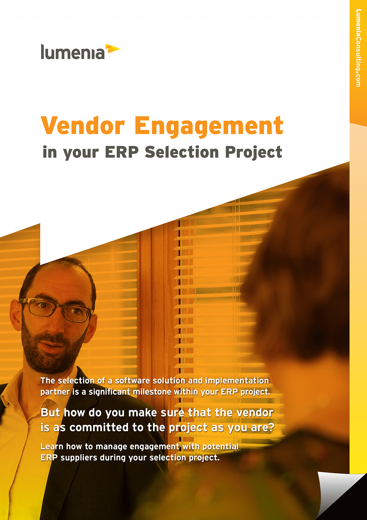 ERP Vendor Engagement