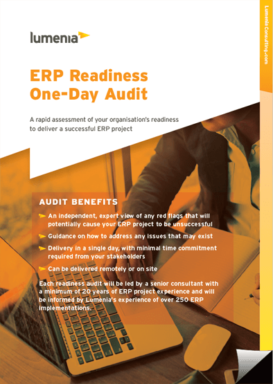 ERP Readiness Audit