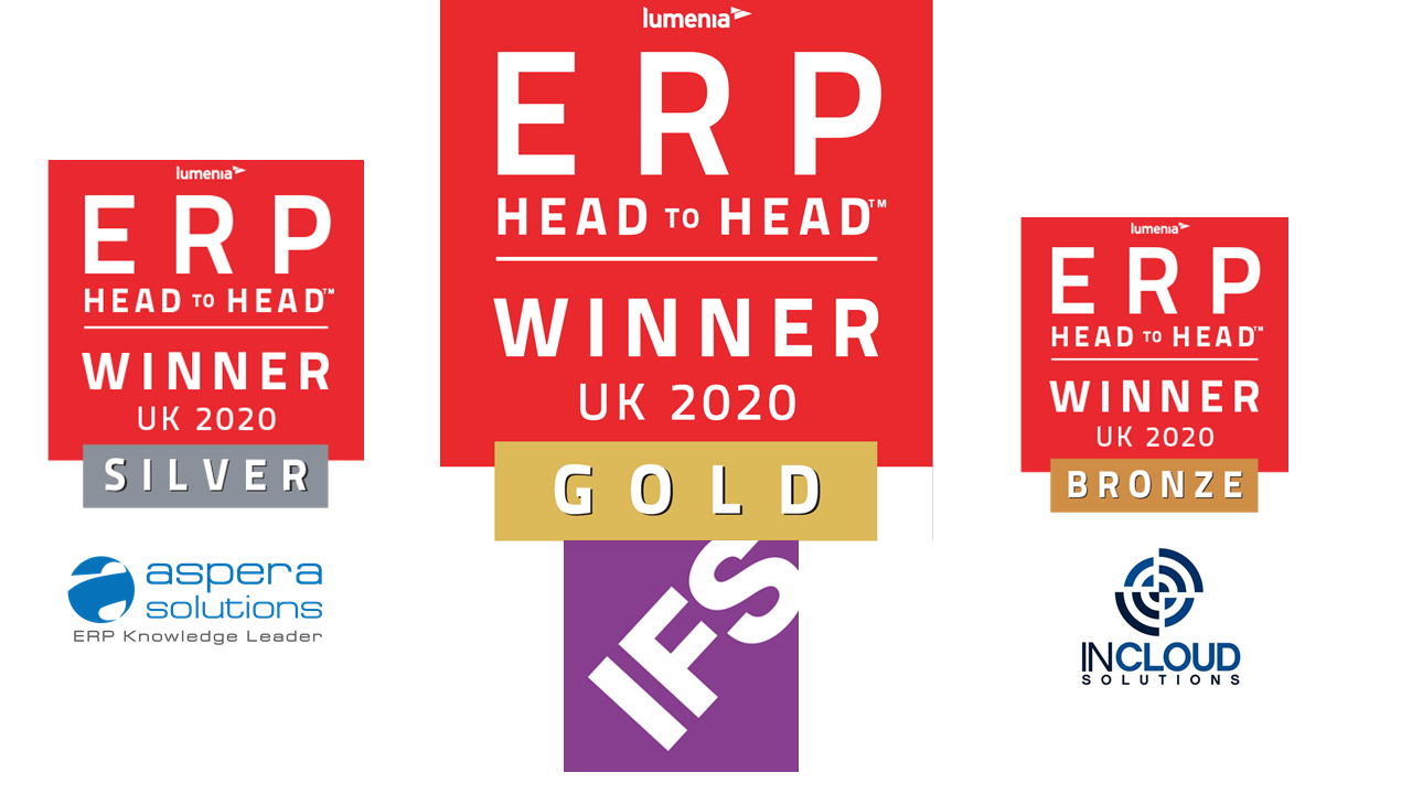 Lumenia ERP HEADtoHEAD event, IFS winner 2020