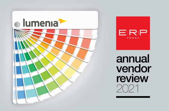 Lumenia ERPToday Annual Vendor Review 2021