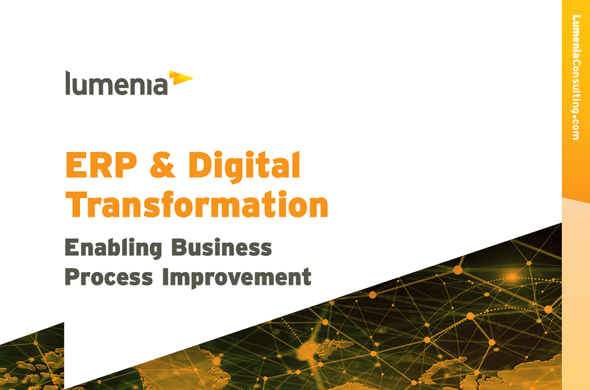 ERP and Digital Transformation - Enabling Business Process Improvement