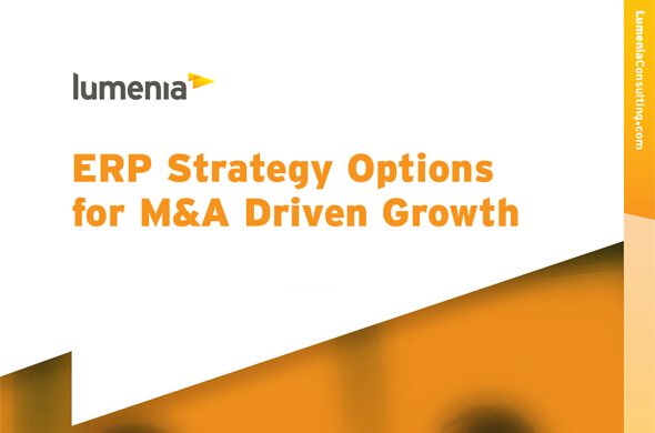 ERP Strategy for Merger and Acquisition  Driven Growth