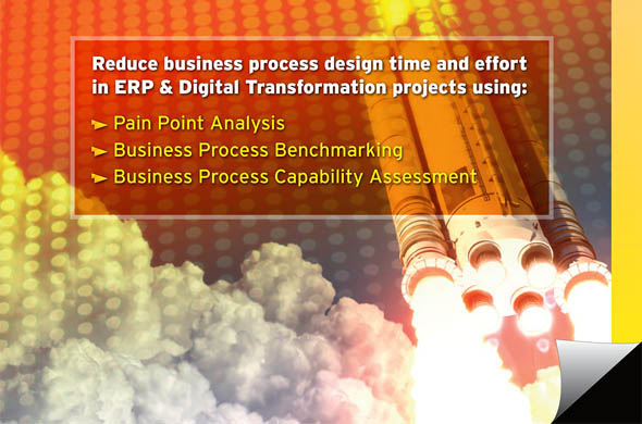 Accelerating Business Process Design in ERP and Digital Transformation Projects
