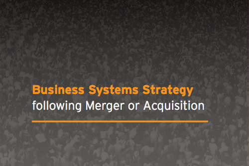 Issue 1: Business Systems Strategy: following Merger or Acquisition thumb