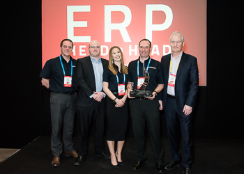 ERP HEADtoHEAD UK Best Vendor Winner 2018 - Columbus